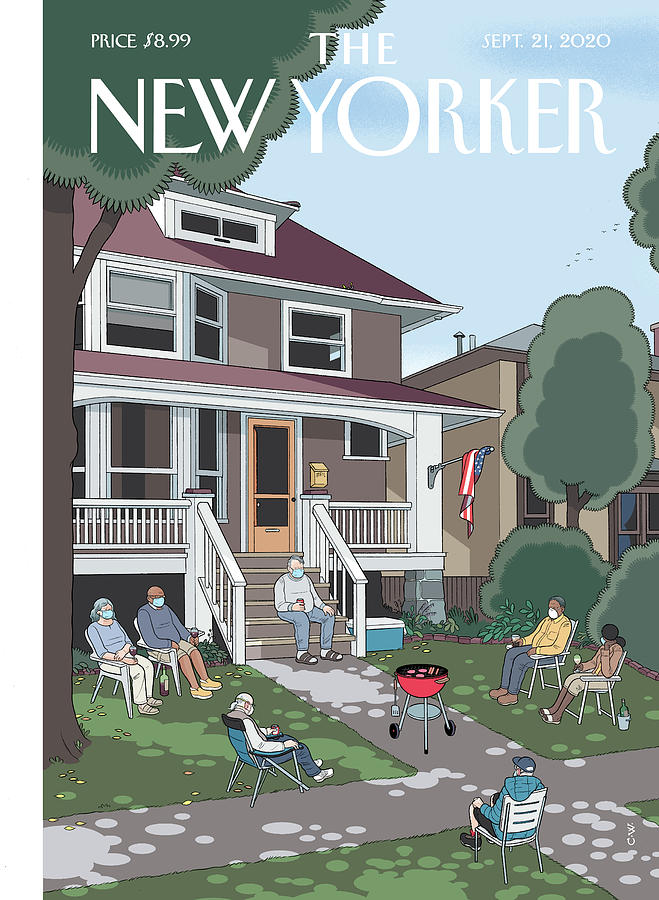 Last Days Painting by Chris Ware
