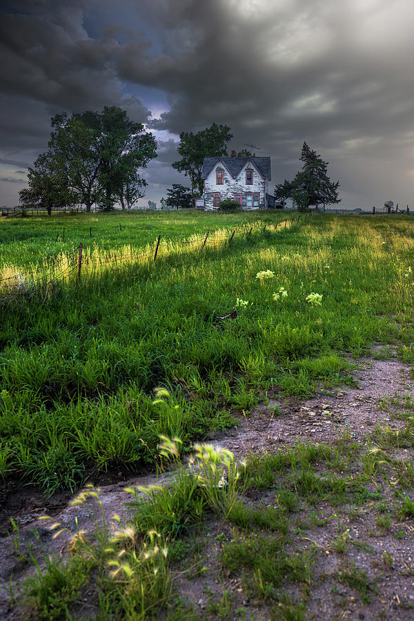 Huron Photograph - Last House On The Left by Aaron J Groen