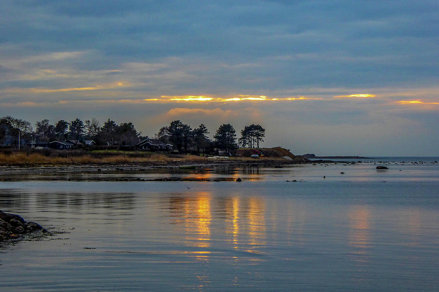 Last Light And Reflections Photograph