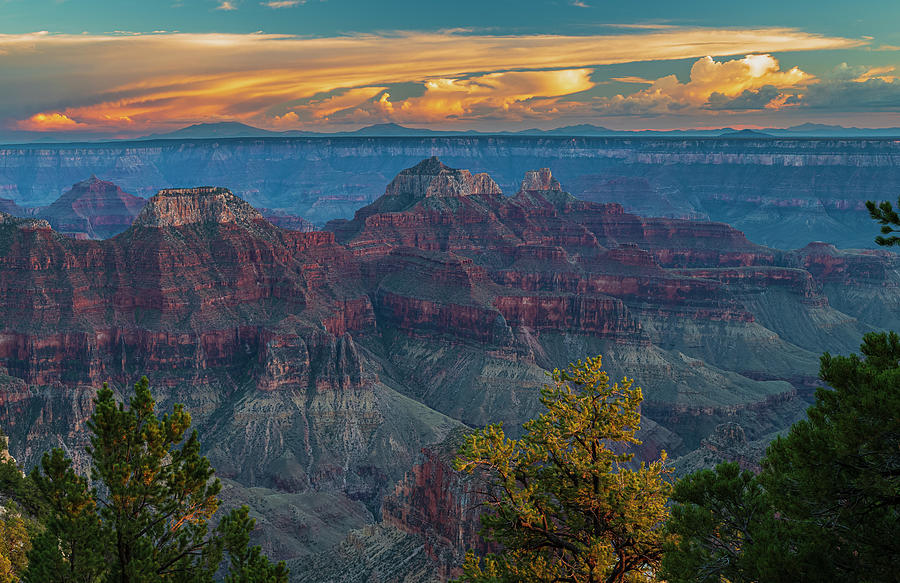 Last Light - Bright Angel Canyon Photograph
