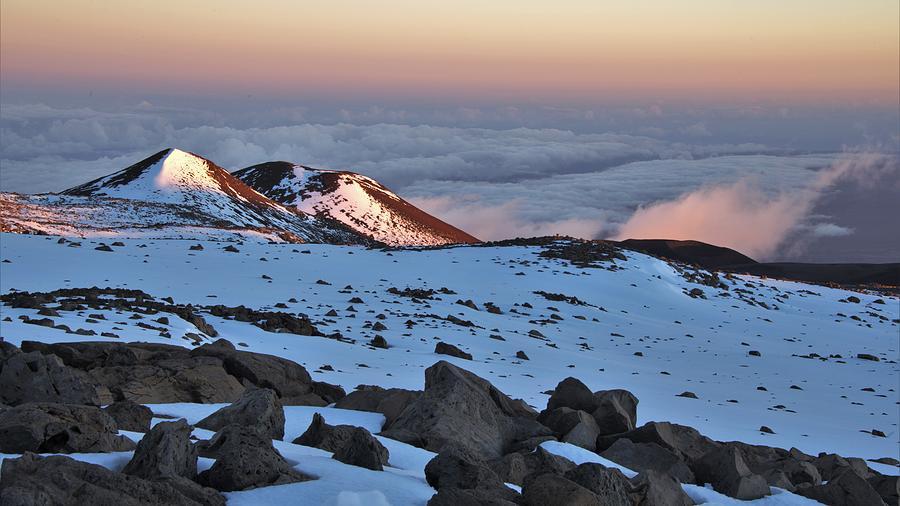 Last Light On The Mauna Photograph
