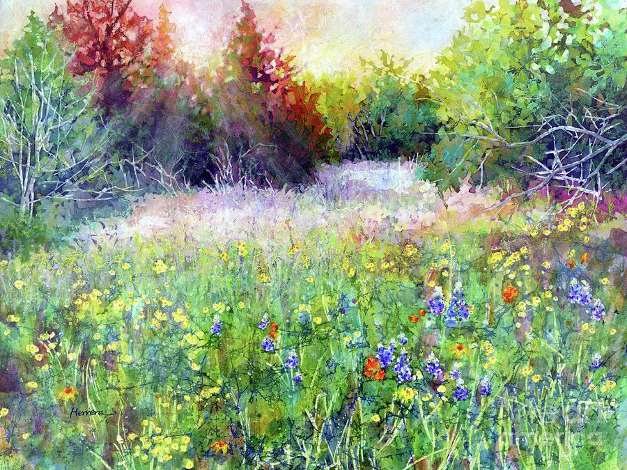 Last Light-pastel Colors Painting