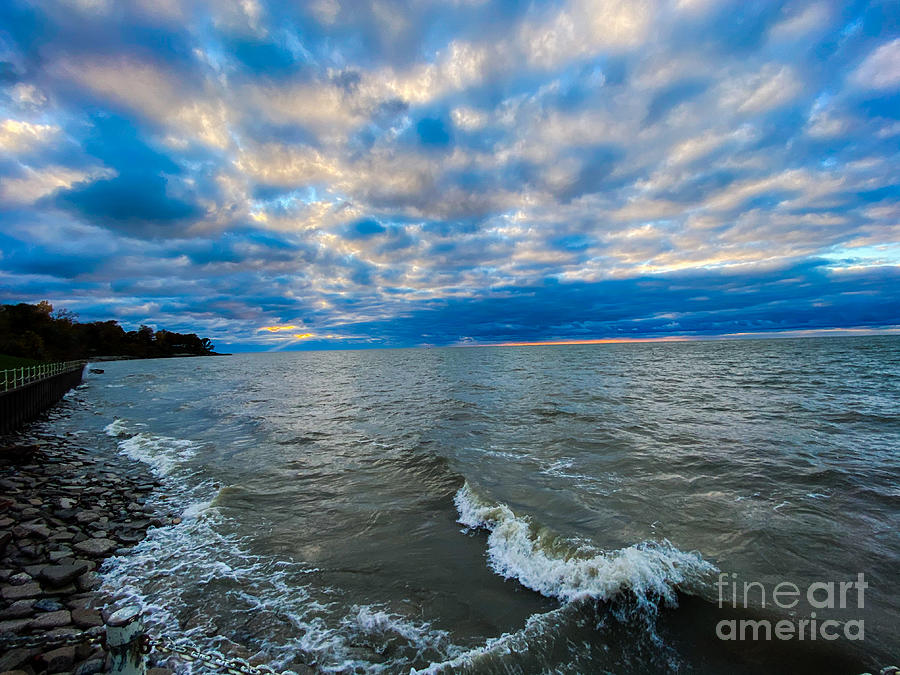 Late Autumn Lake Erie Photograph