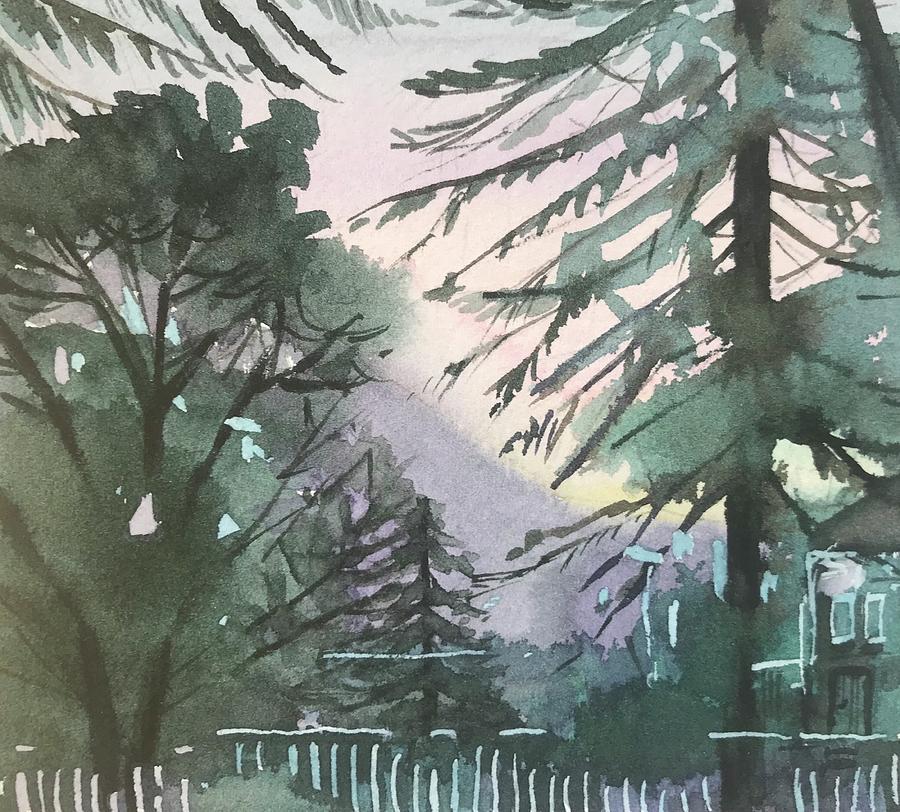 Late Dusk Painting