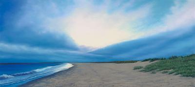 Seascape Pastel - Late Summer Sunset-Napatree Point by Anthony Petchkis