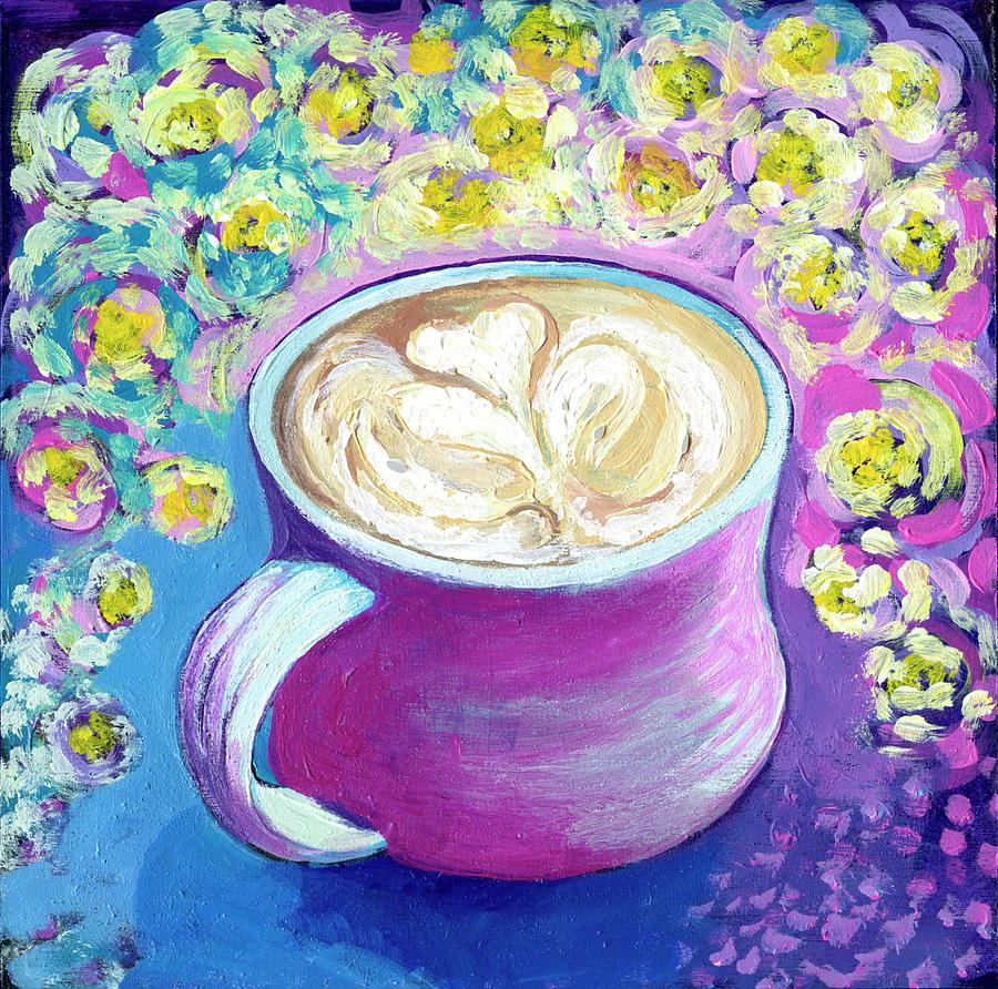 Latte Love Painting