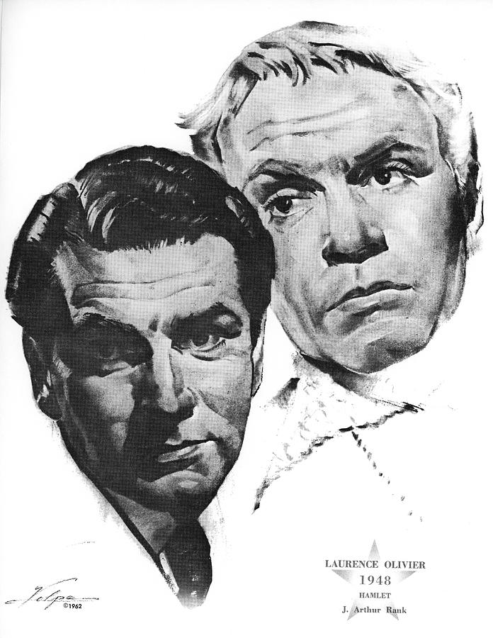 Laurence Olivier By Volpe Drawing