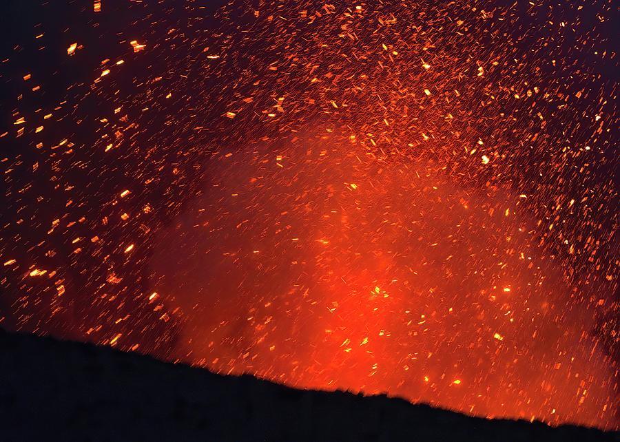 Lava Confetti Photograph