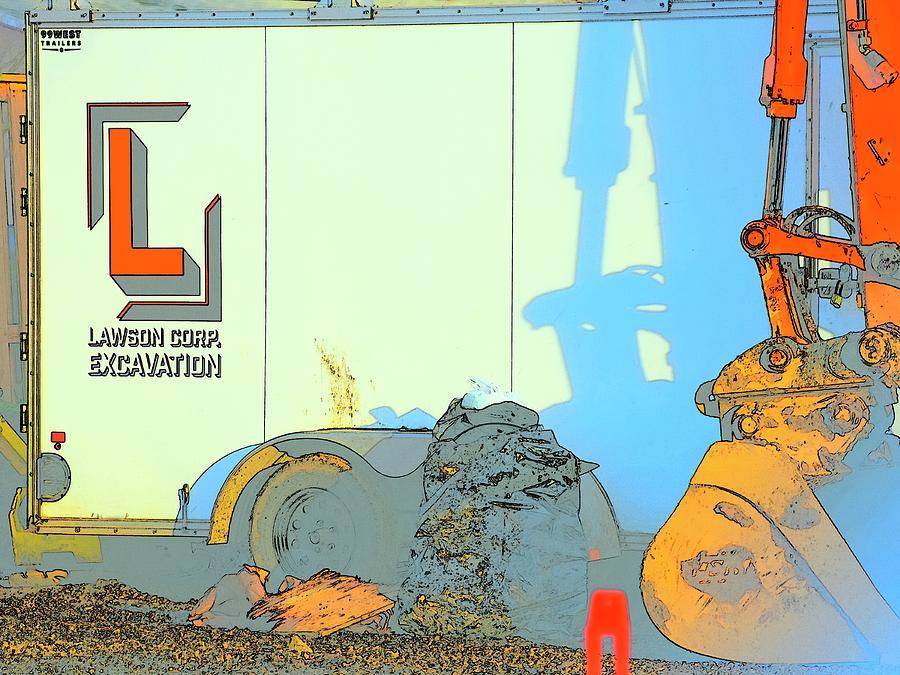 Lawson Excavation Trailer Photograph