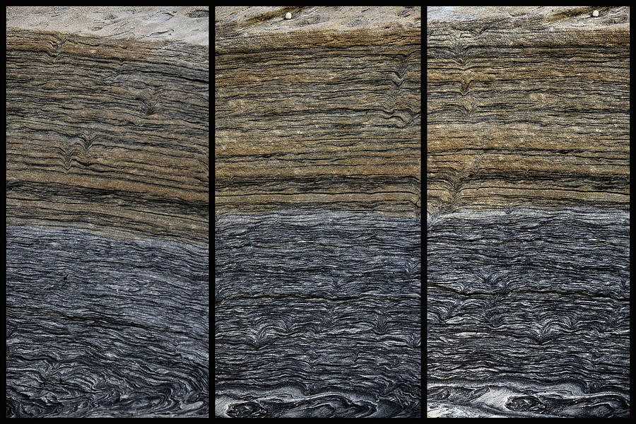 Layers Of Rock Photograph