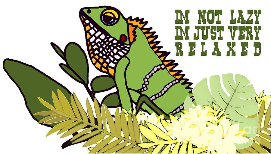 Lazy Lizard Digital Art