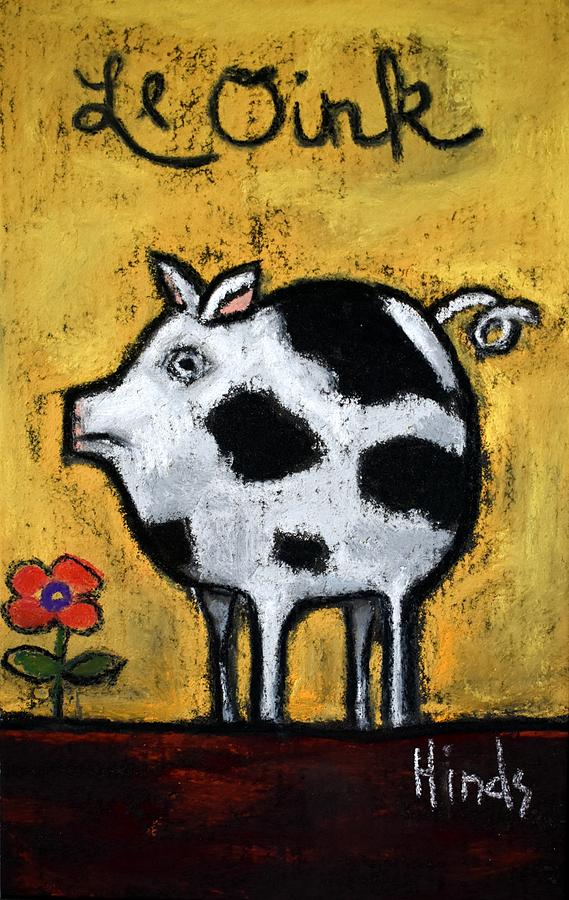 Le Oink Painting