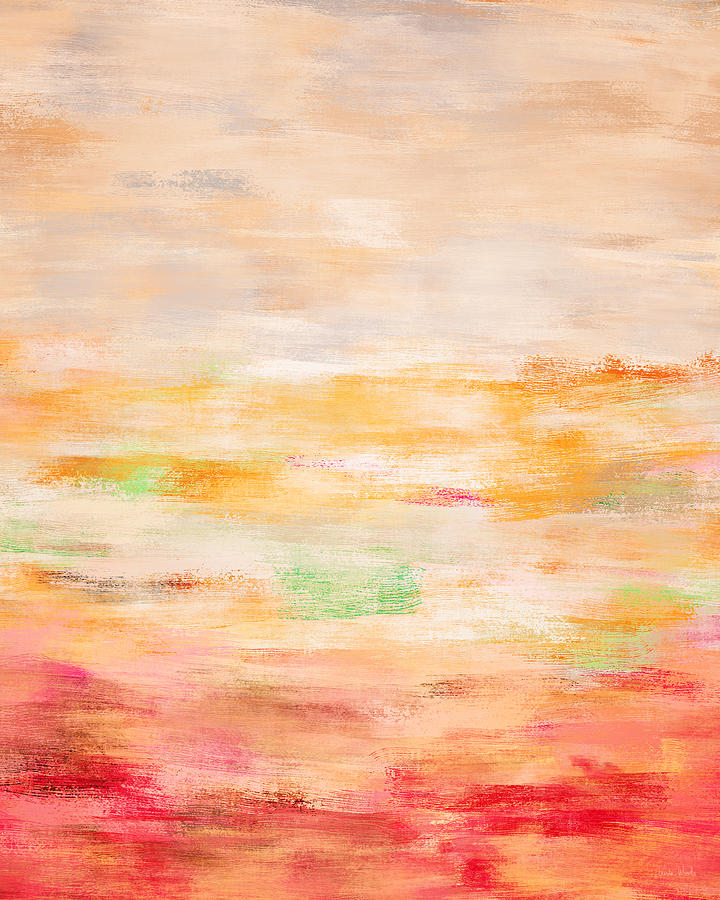 Abstract Painting - Le Printemps- Art By Linda Woods by Linda Woods