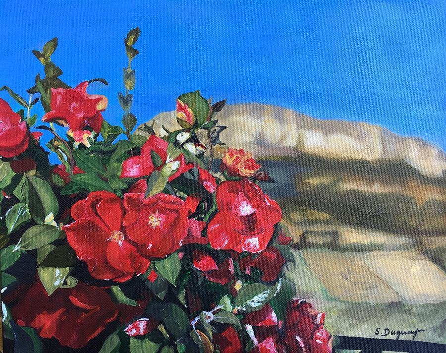Le Vie Des Roses Painting