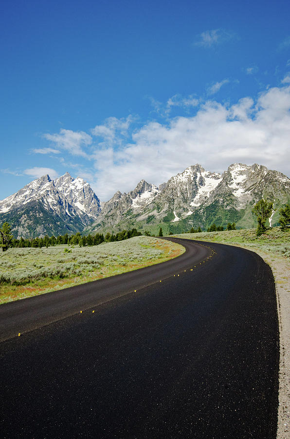 Leading Into The Tetons Photograph