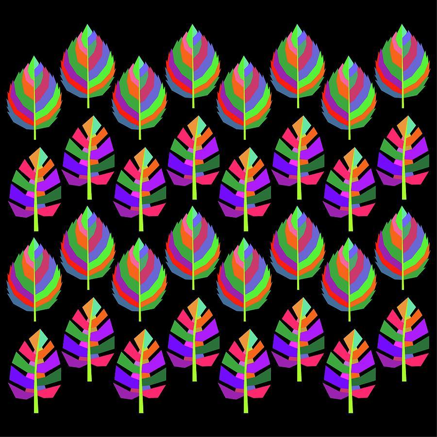 Leaf Pattern 1 Digital Art