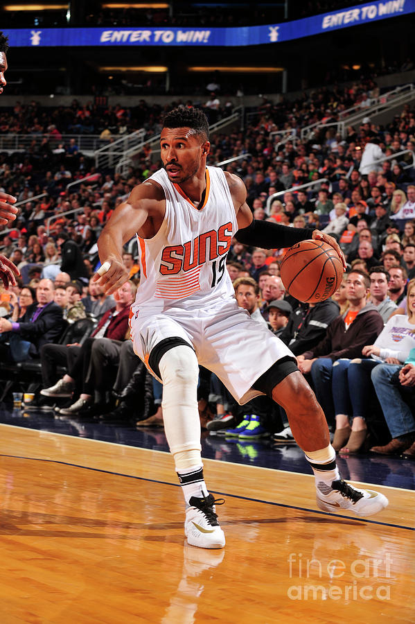 Leandro Barbosa Photograph by Barry Gossage