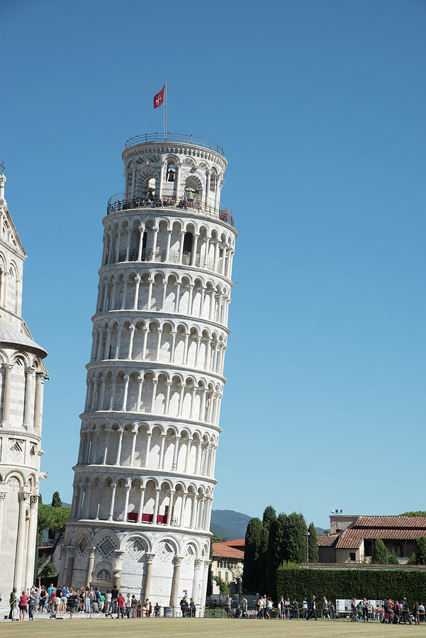 Leaning Tower Of Pisa In Italy Photograph