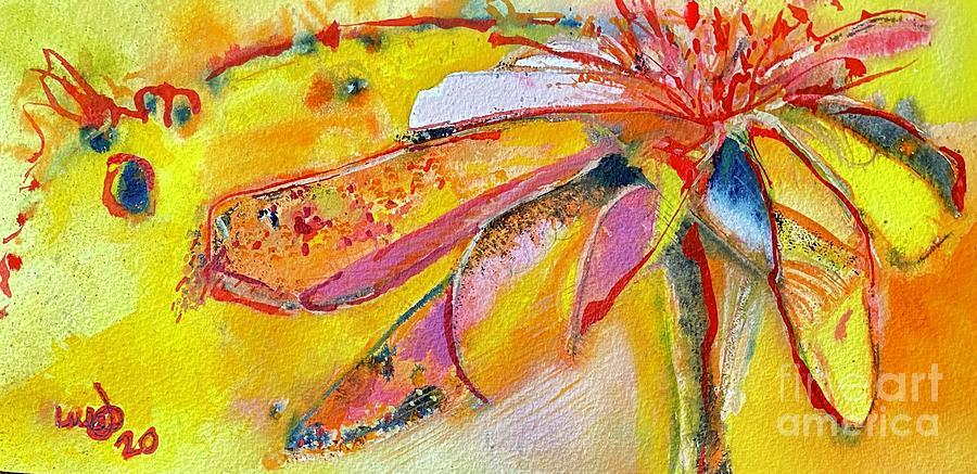 Leaves Painting by Glen Garnett