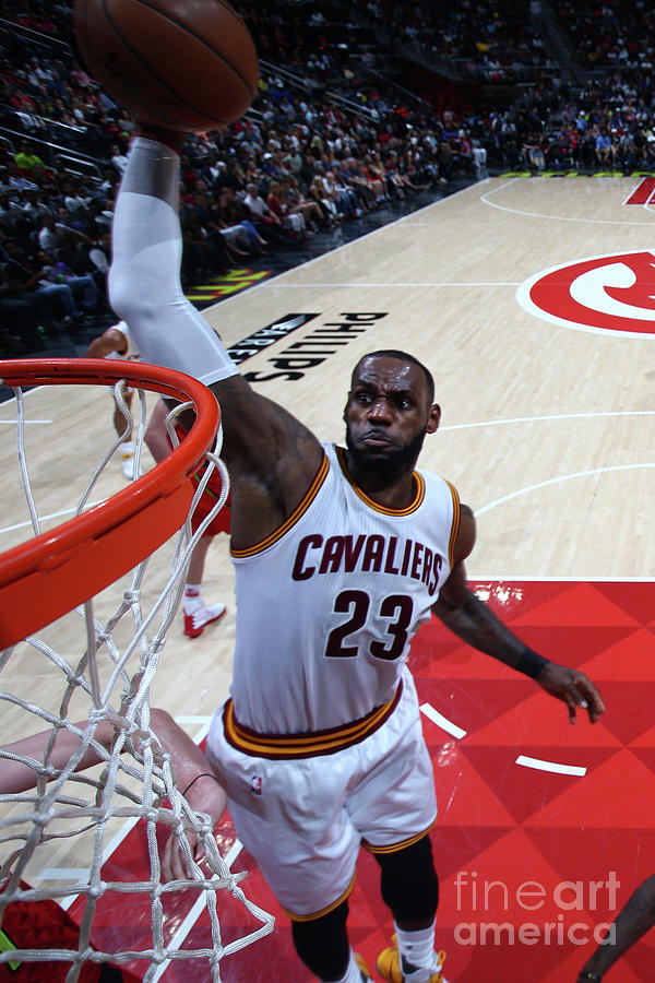 Lebron James Photograph by Kevin Liles