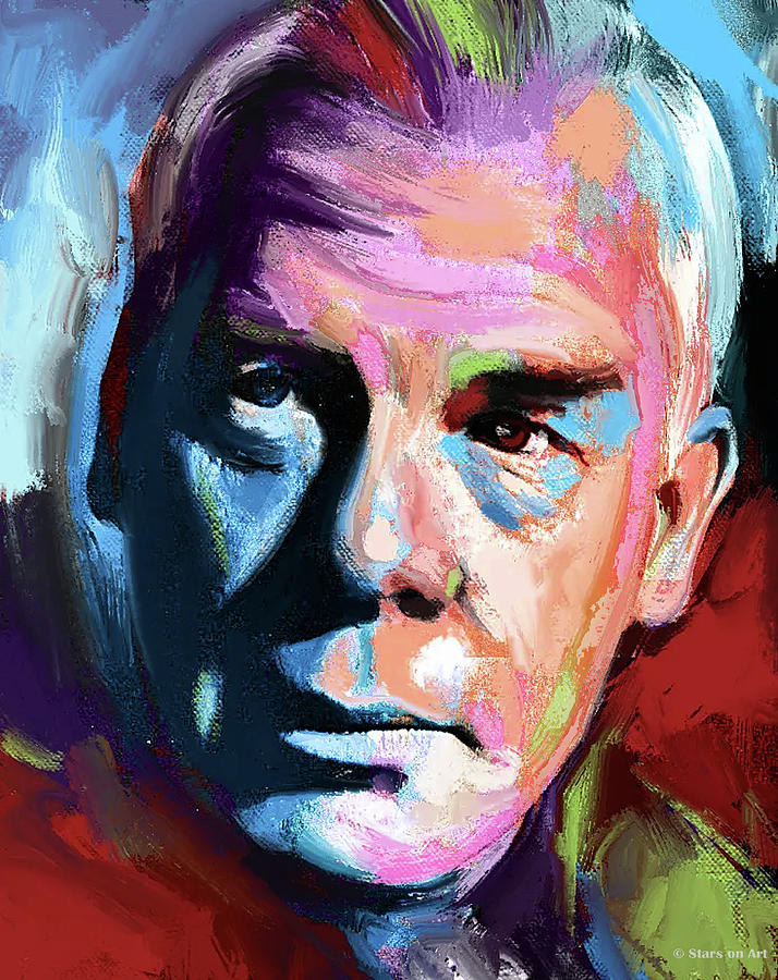 Lee Marvin Painting Painting