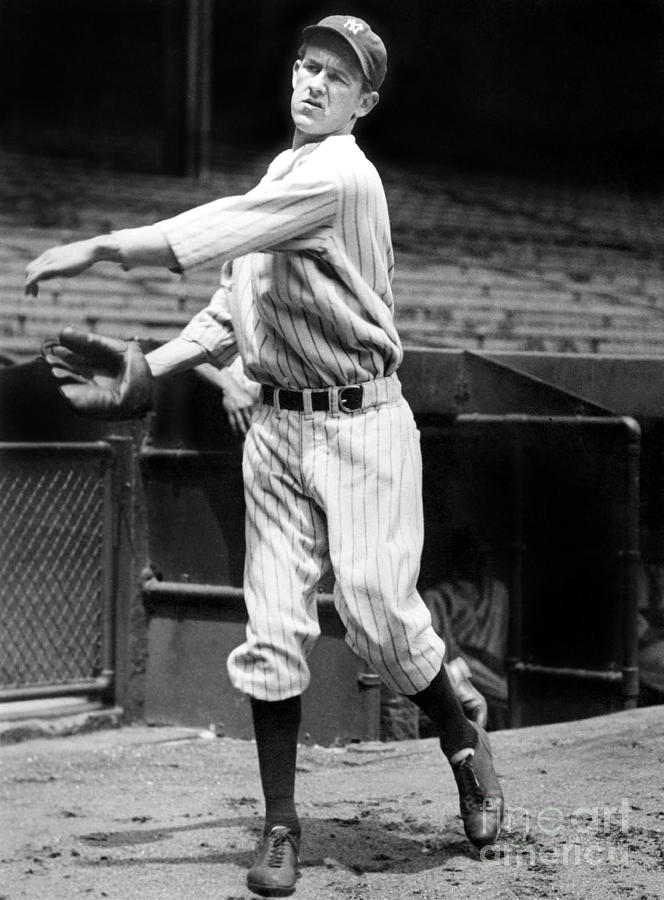 Lefty York Photograph by National Baseball Hall Of Fame Library