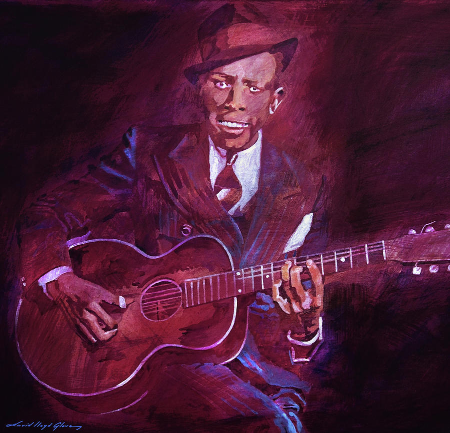 Legend of Robert Johnson by David Lloyd Glover