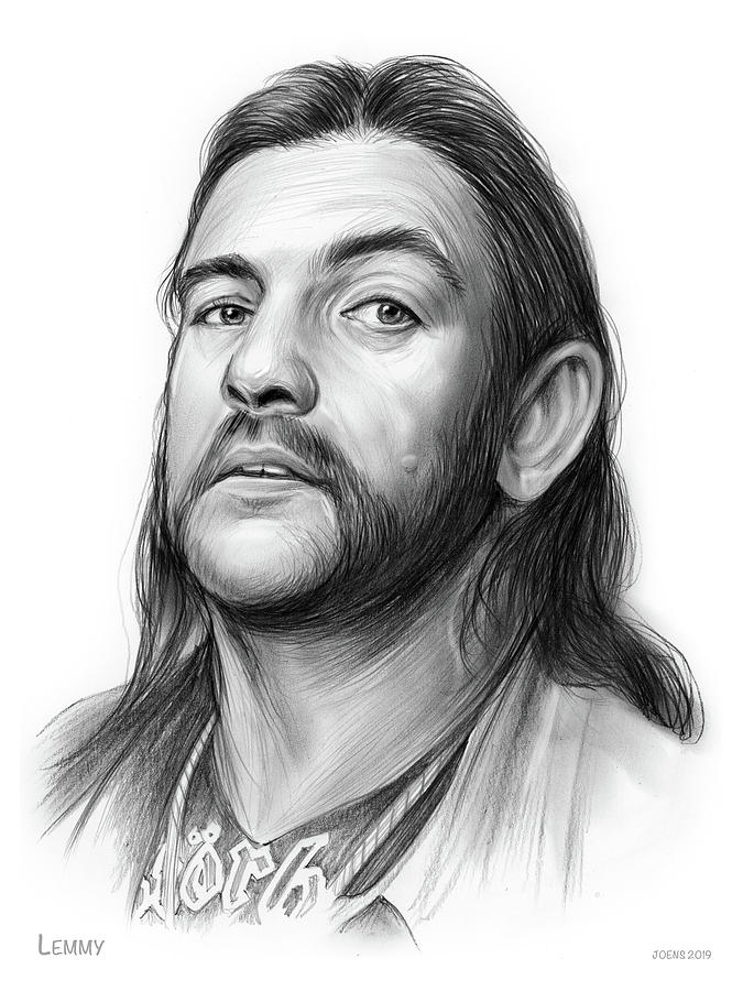 Lemmy Drawing