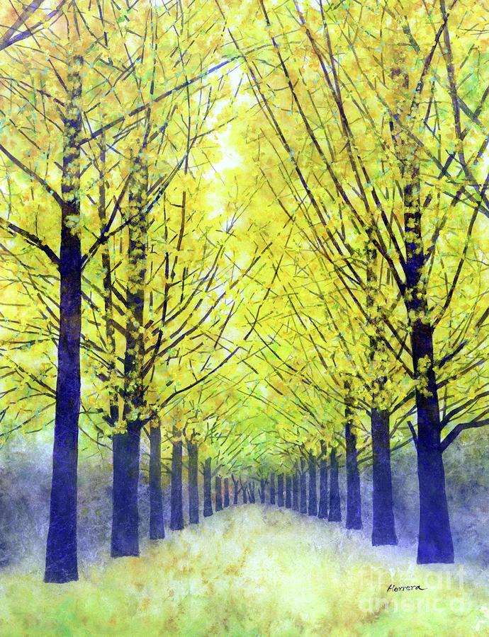 Lemon Grove-pastel Colors Painting