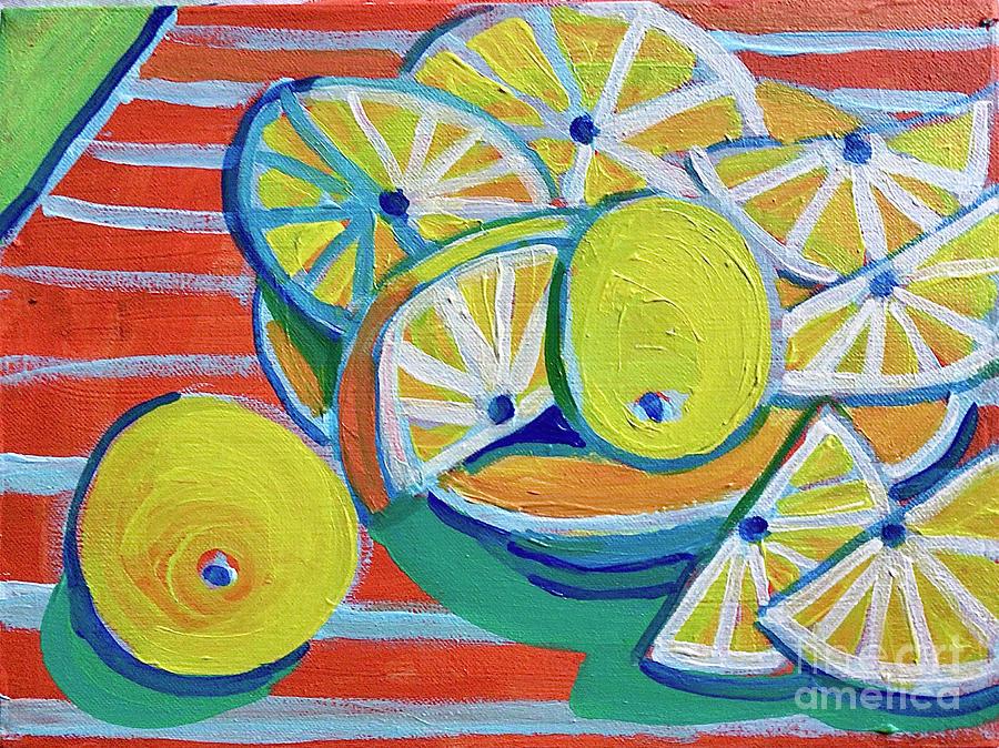 Lemon Zest Painting