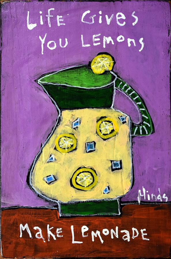 Lemonade Painting