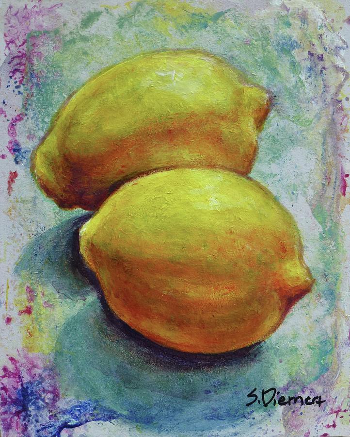 Lemons IIi Painting