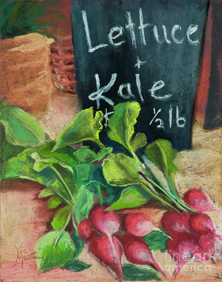 Lettuce and Kale by Vic Mastis