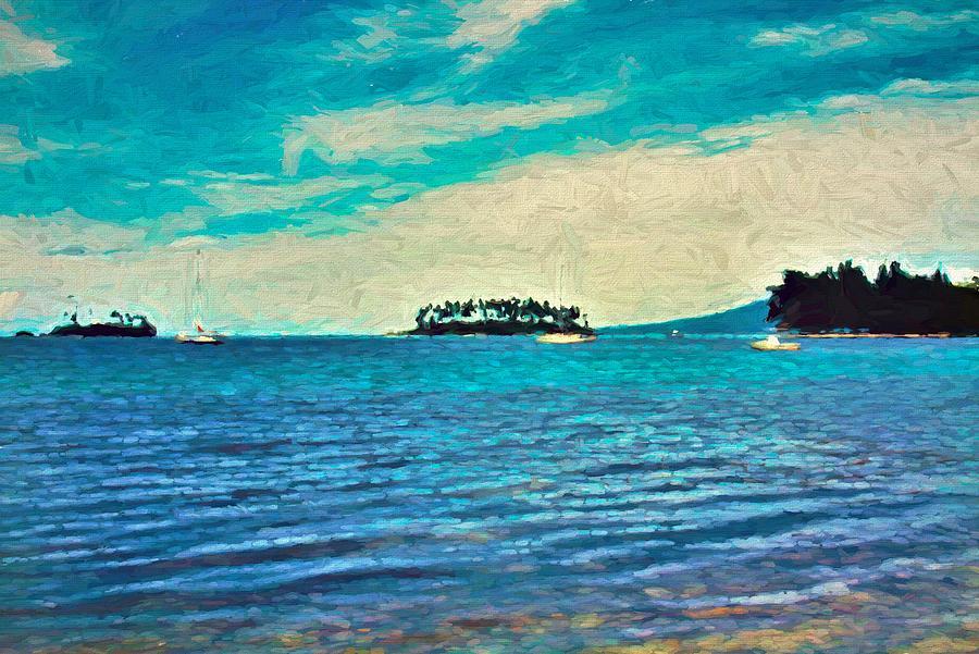 Liapari Lagoon by Joan Stratton