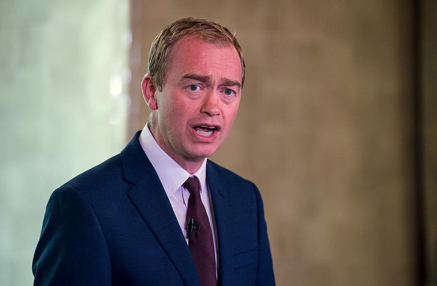 Liberal Democrat Leader Tim Farron Speaks Following General Election Gains Photograph by Chris J Ratcliffe