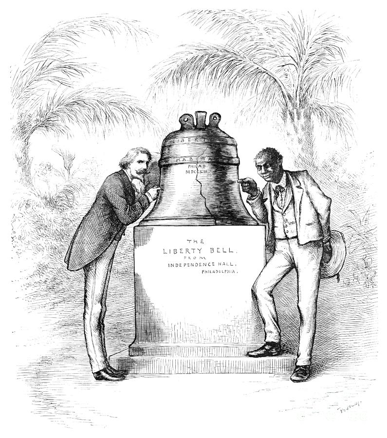 LIBERTY BELL, 1885 by Thomas Nast