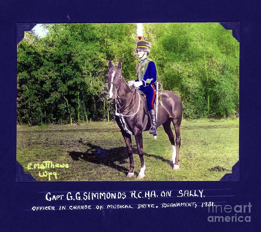 Lieutenant-general Guy Granville Simonds Photograph