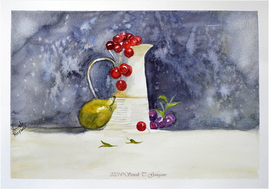 Still Life Painting - Life into Still by Sonali Gangane