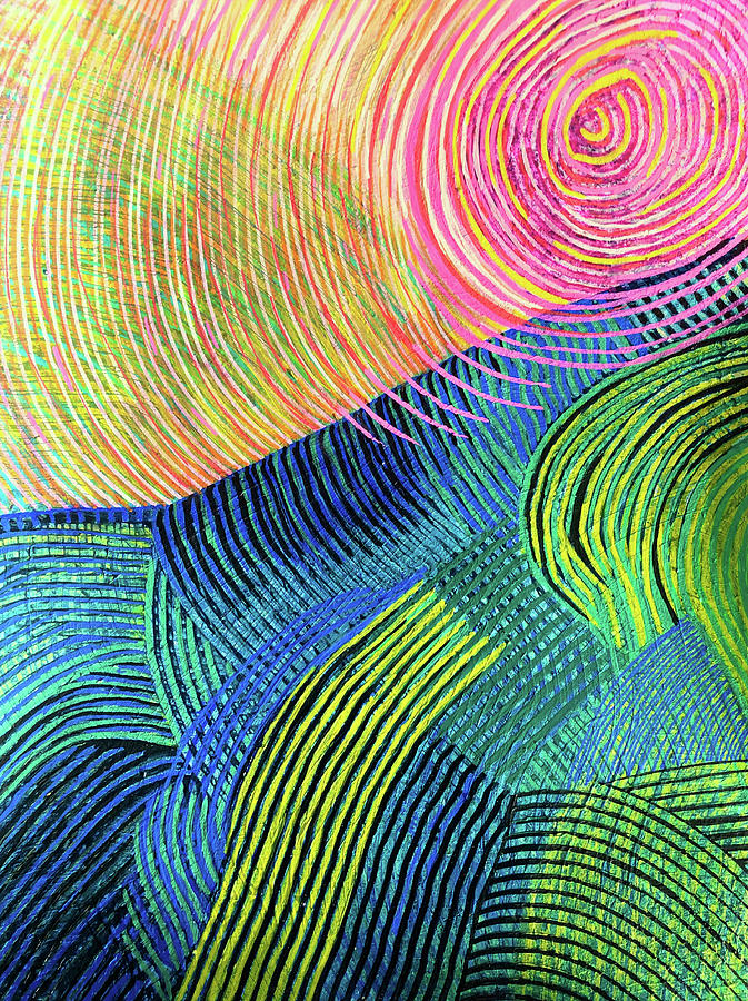 Light-filled Linear Landscape by Polly Castor