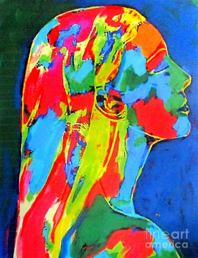 Light lies on her by Helena Wierzbicki