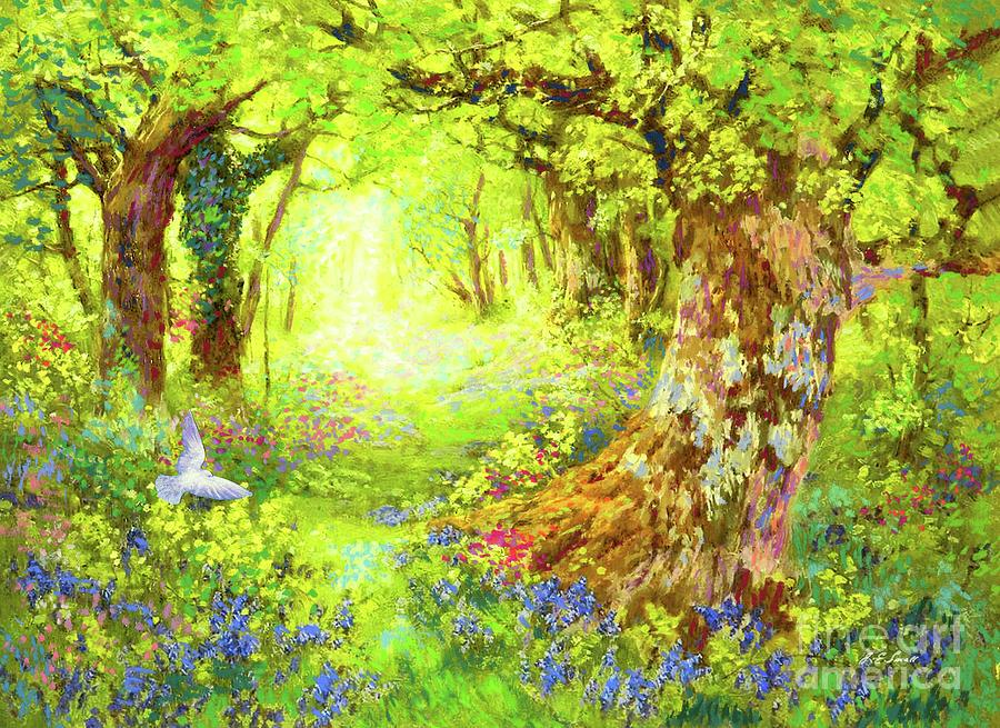 Landscape Painting - Light of Life by Jane Small