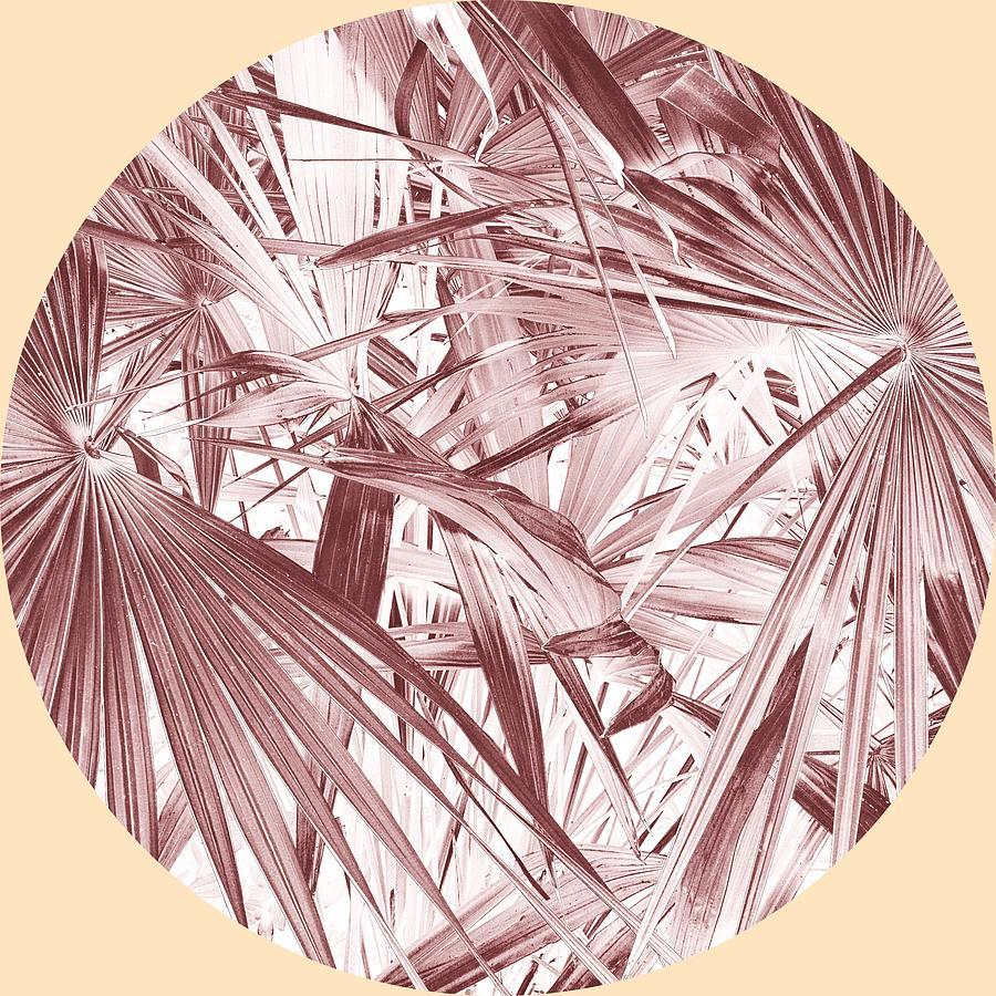 Light Purple Palms Photograph