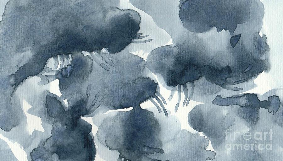 Light Rain Abstract Expressionism Painting