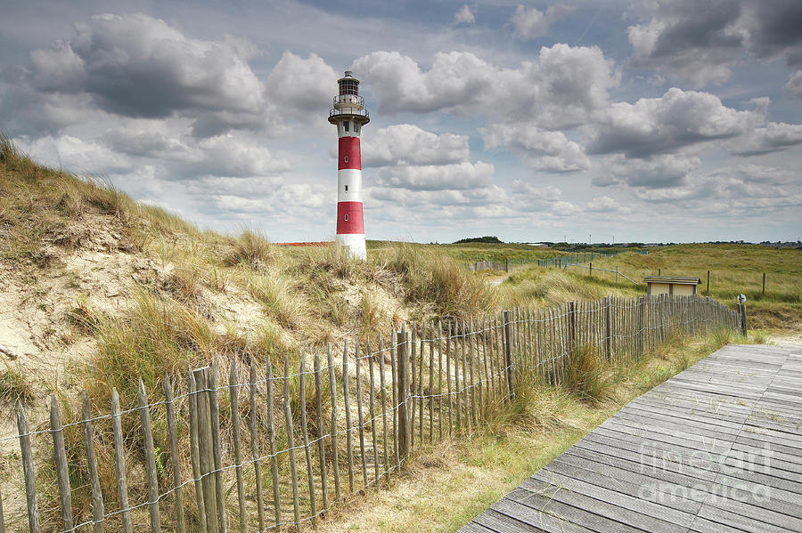 Lighthouse and Boardwalk by Wouter Pattyn