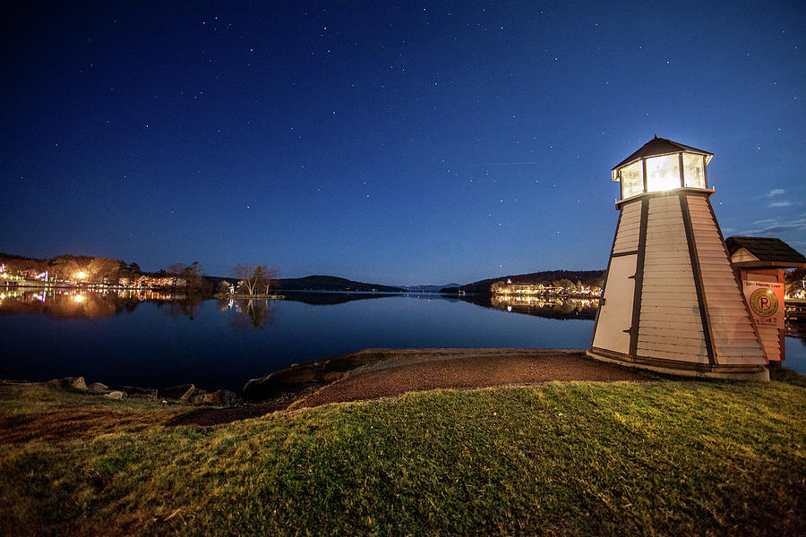 Lighthouse - Meredith, Nh Photograph by Trevor Slauenwhite
