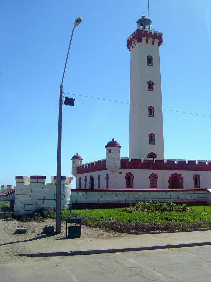 Lighthouse of La Serena, Chili Photograph by Karen Zuk Rosenblatt