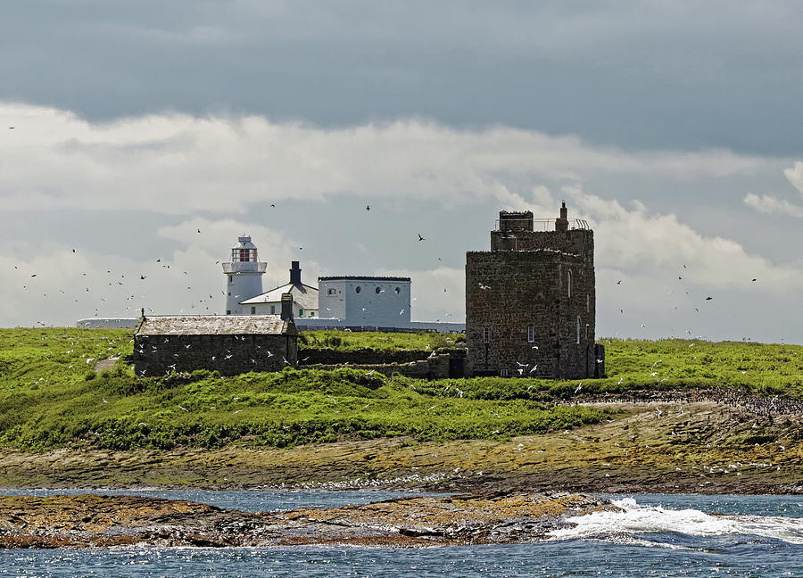 Lighthouse On Inner Farne Photograph