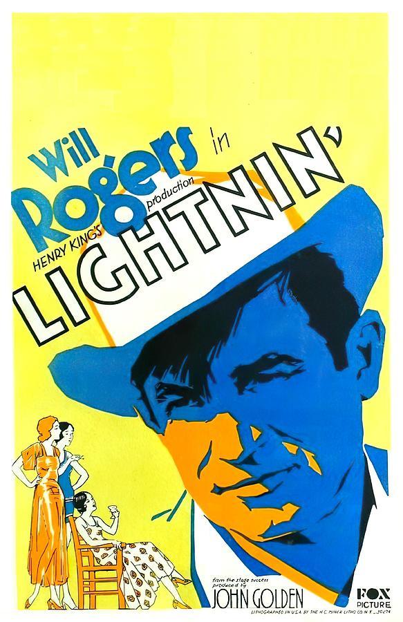 lightnin - 1930 Mixed Media