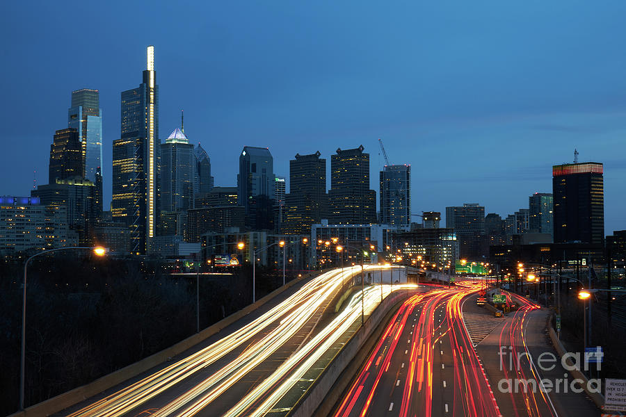 Lights in the City of Brotherly Love by Paul Watkins