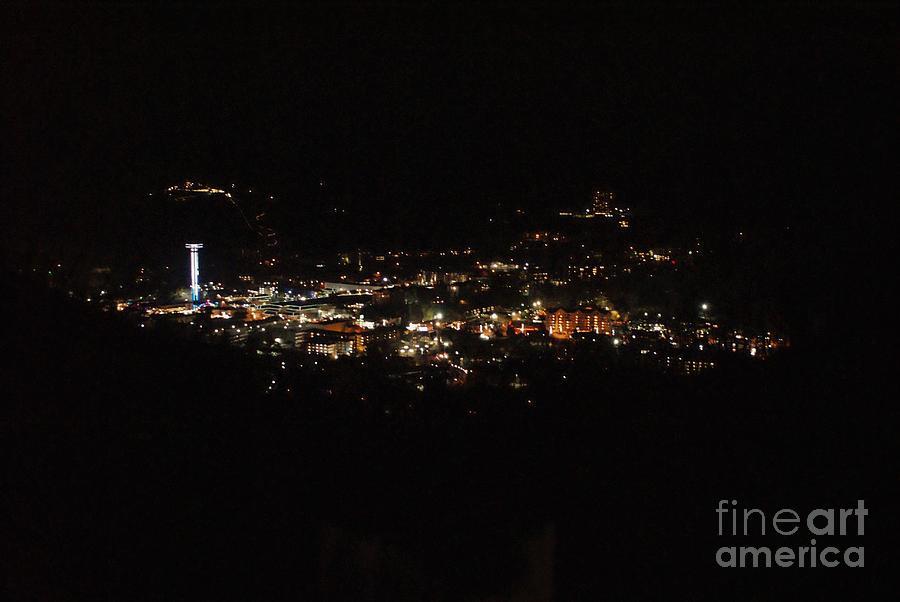 Lights Of Gatlinburg Photograph